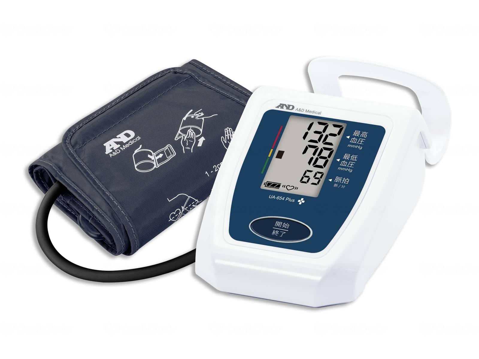 上腕式血圧計UA654Plusの画像
