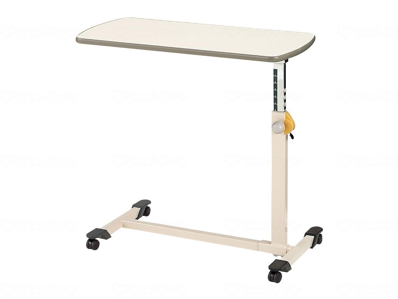 ベッドサイドテーブル ノブボルト調整式の画像