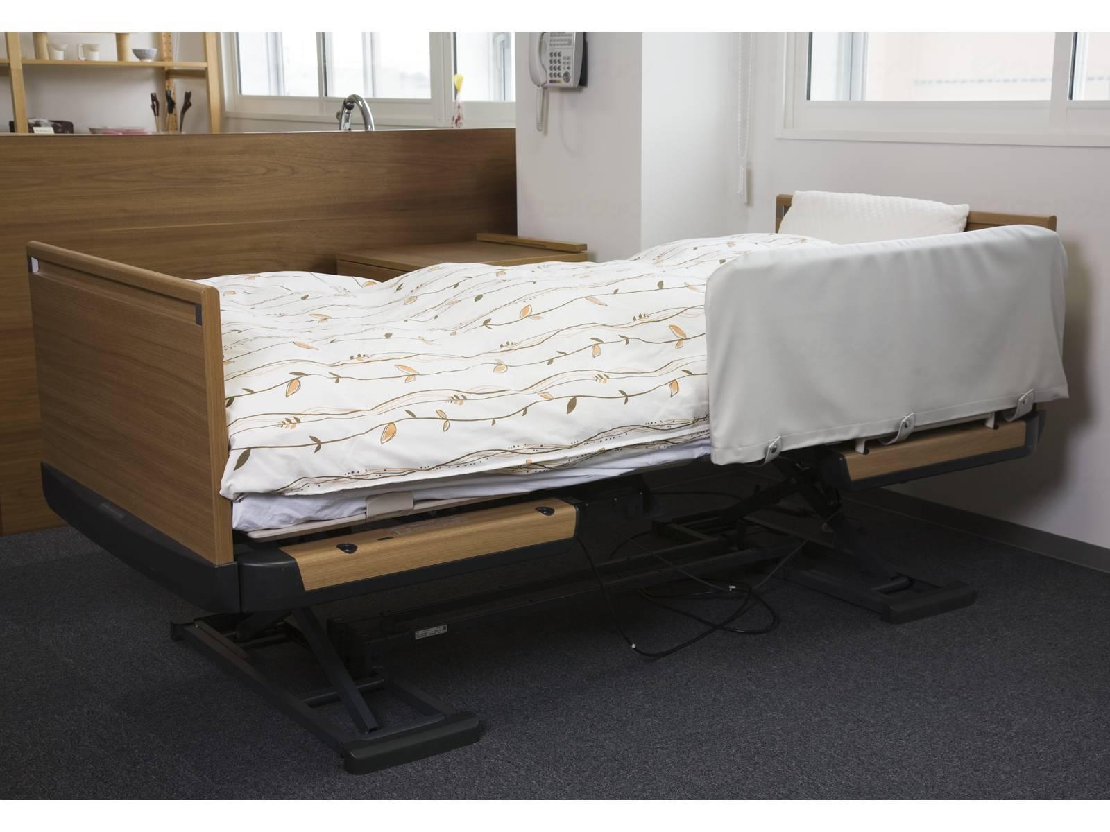 ベッドサイドレールカバーの画像