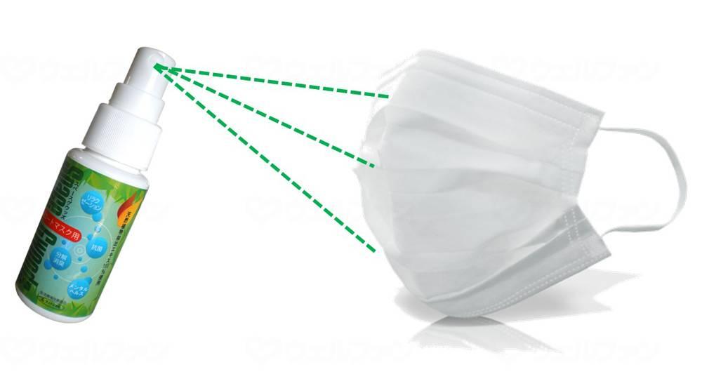 スペースグウッズ抗菌コートマスク用の画像