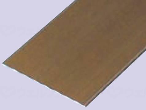 バリアフリーレール(フラットタイプ) 160×4000 ブロンズ