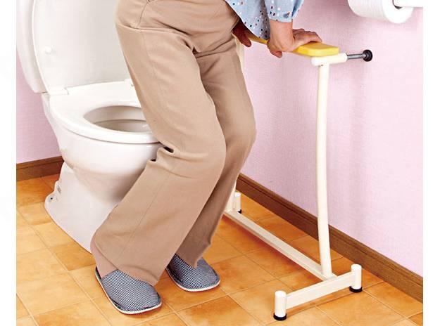 置楽手すり トイレ用の画像