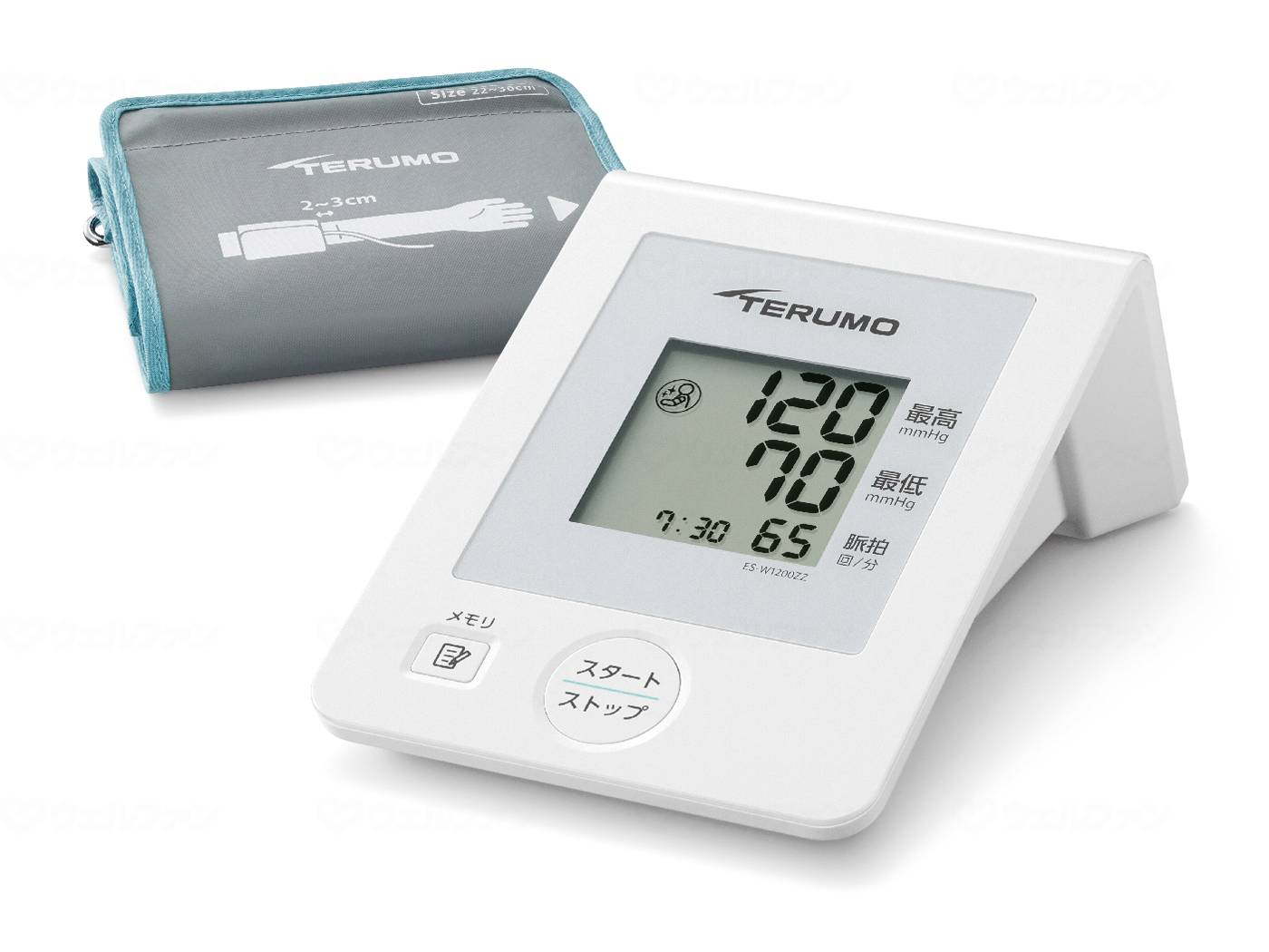電子血圧計ESW1200ZZの画像