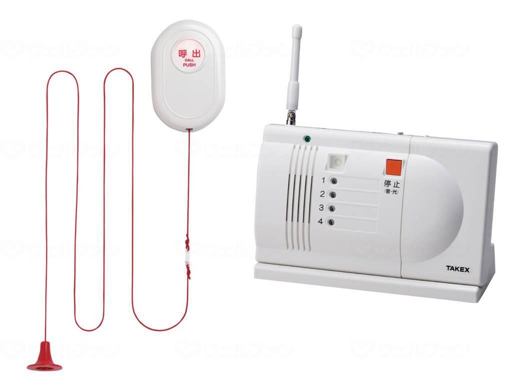 浴室用送信機/緊急呼出しセット 卓上型