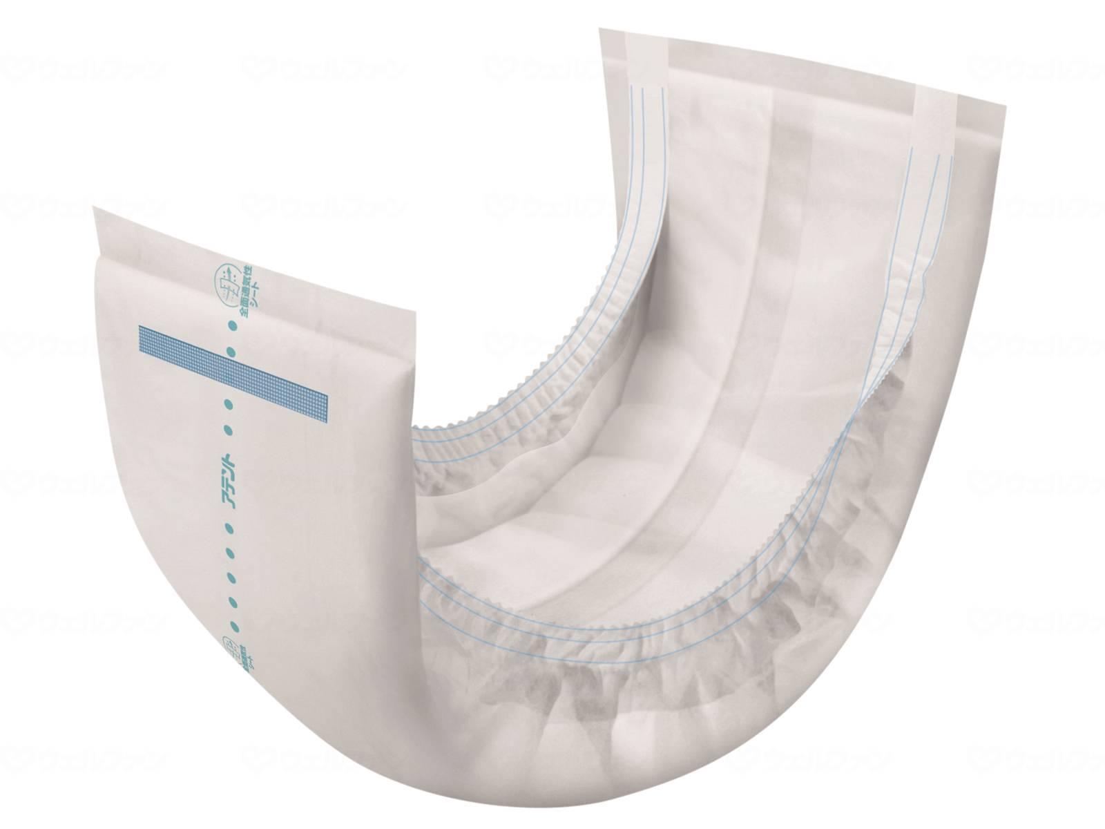 紙パンツ用尿とりパッドぴったり超安心2回吸収の画像