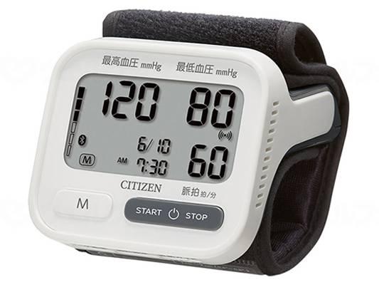 シチズン手首式血圧計CHWH903の画像