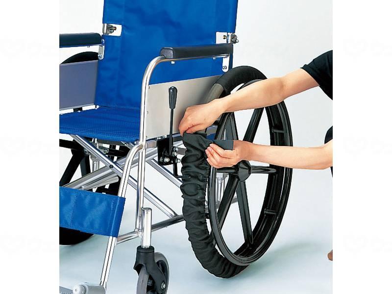 車いす車輪カバー(2本1組)の画像