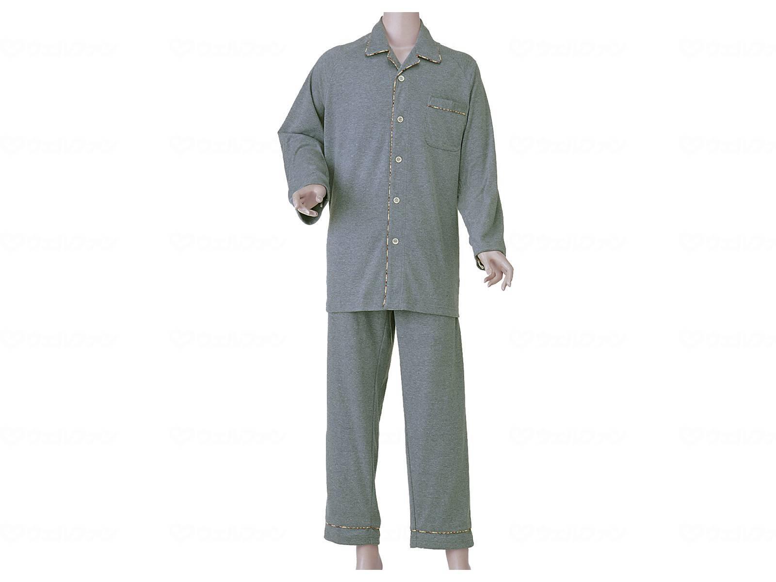 紳士楽らくパジャマ(スムース)の画像