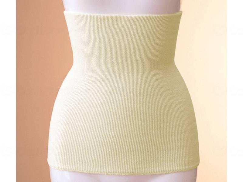 綿リブ薄手腹巻き(綿ハード)の画像