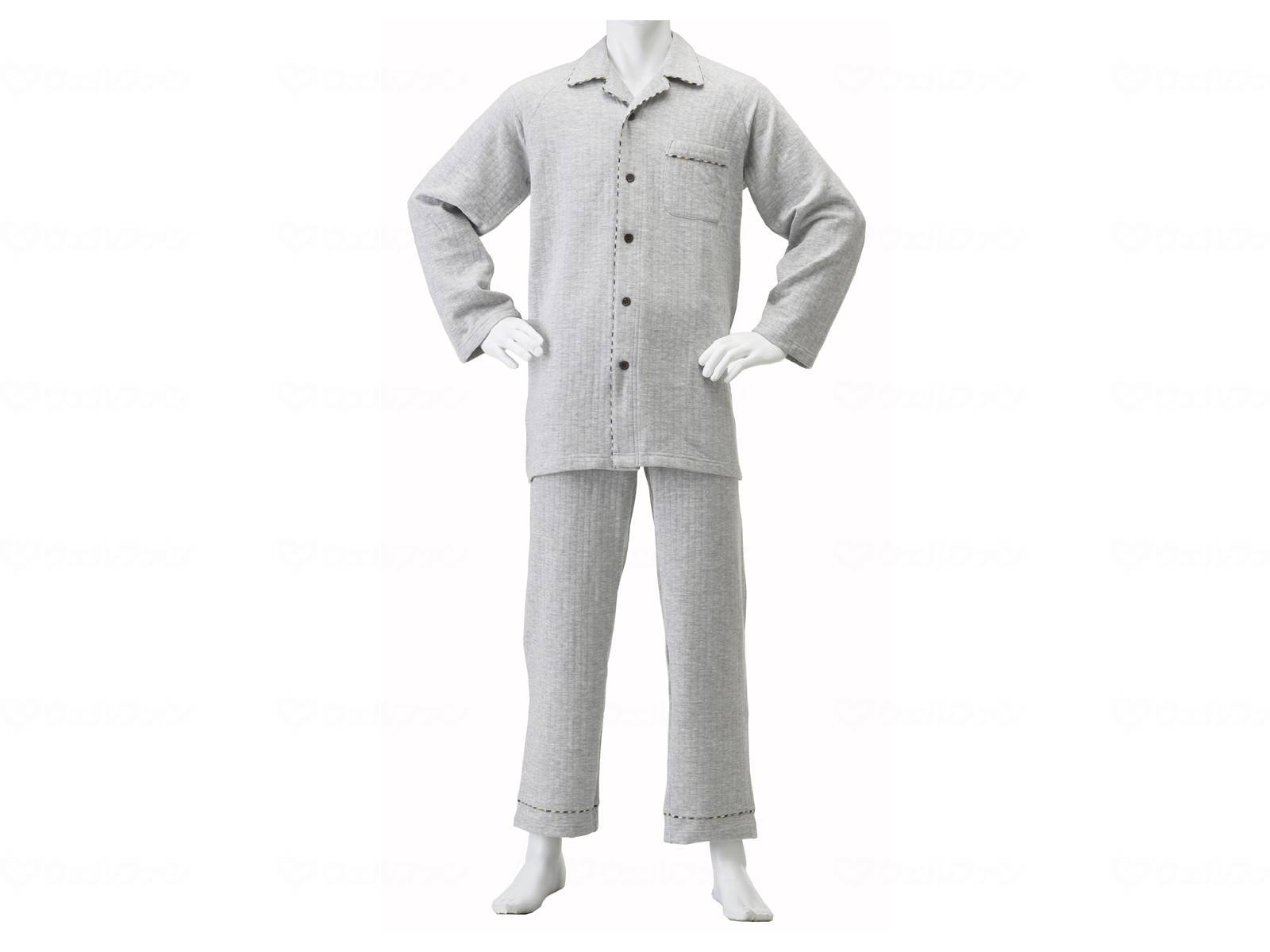 紳士楽らくキルトパジャマの画像