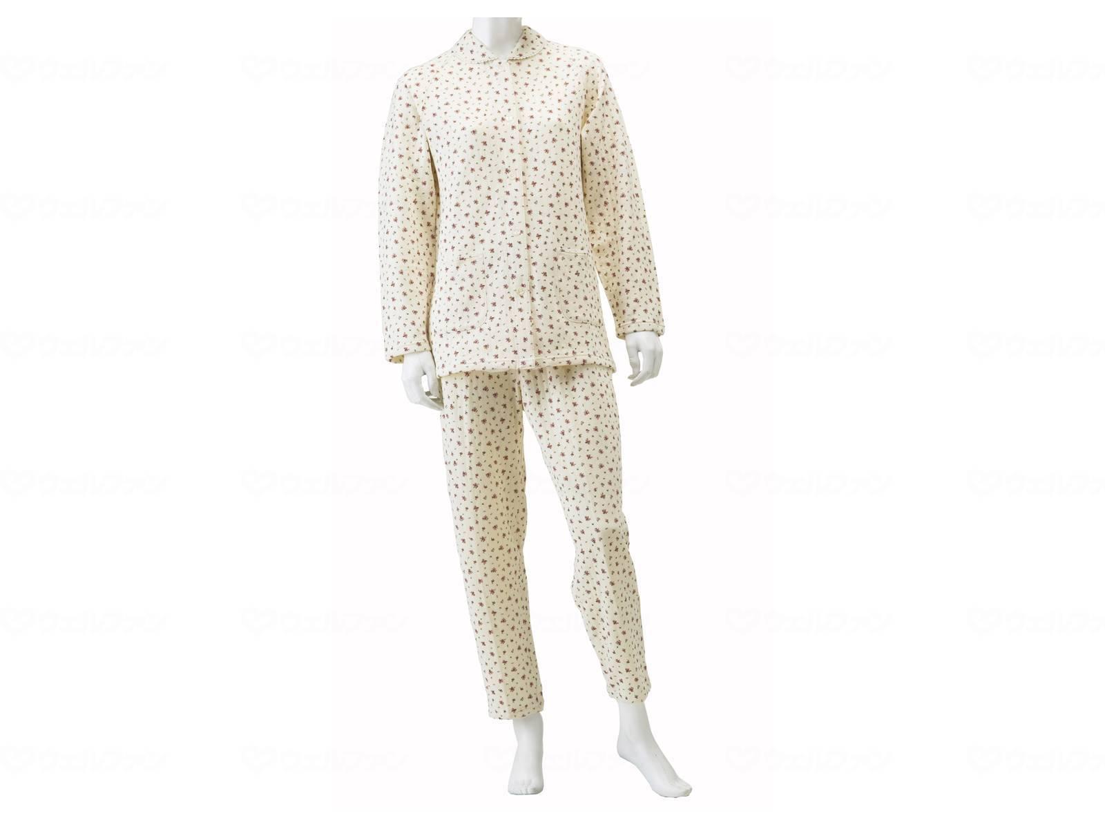 婦人楽らくキルトパジャマの画像