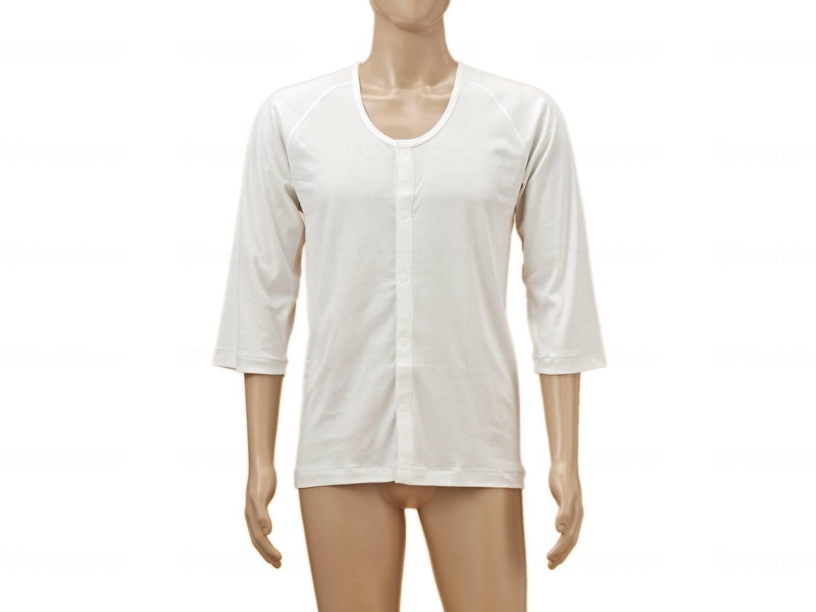 TioTio前開き7分袖(ラグラン袖)紳士用の画像