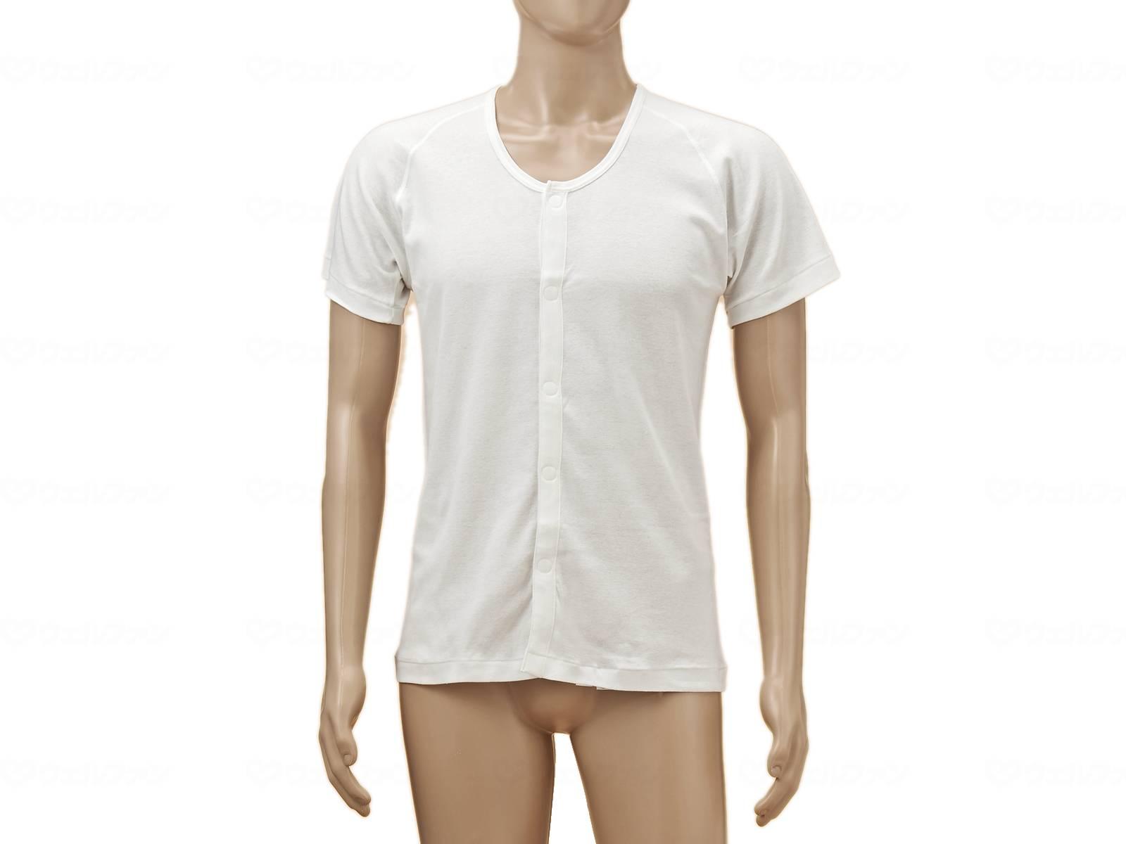 TioTio前開き半袖(ラグラン袖)紳士用の画像