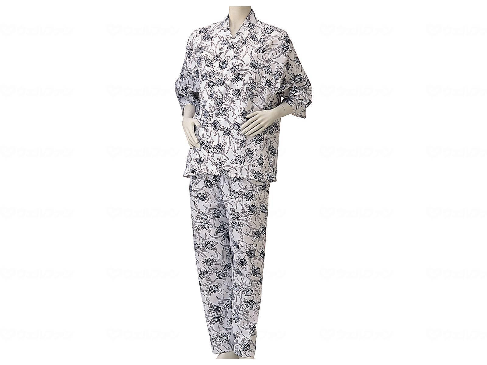 パジャマ型ねまき・婦人(通年用)の画像