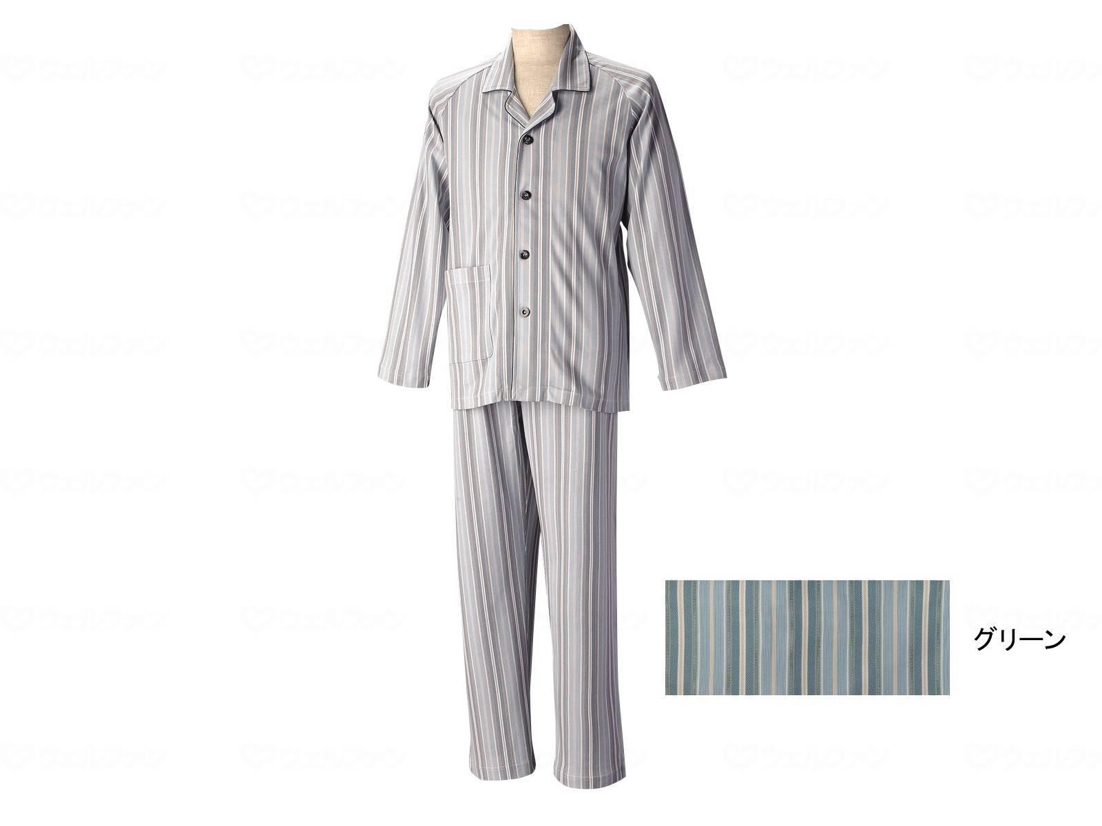 長袖パジャマ(紳士セット)通年用の画像