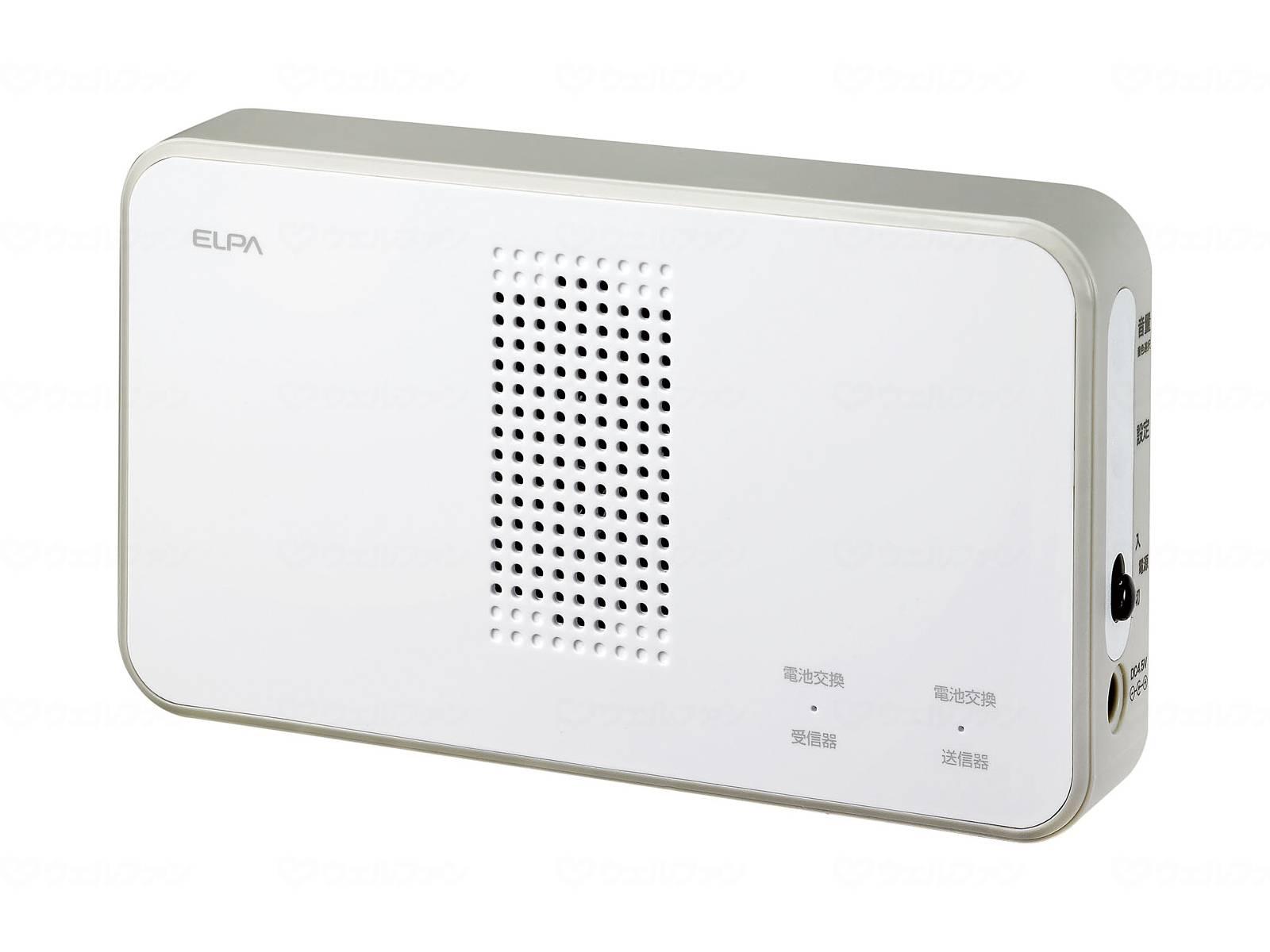 ワイヤレスチャイム受信機の画像